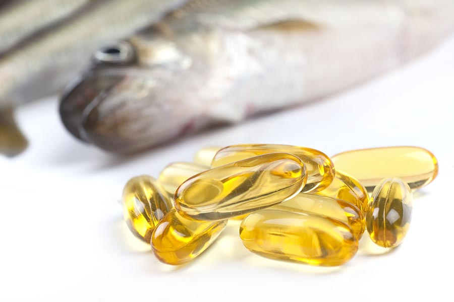 how much fish oil per day