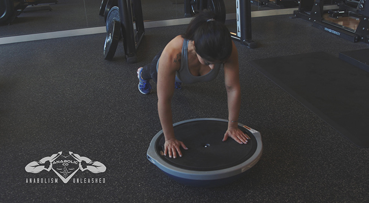 How to Do Bosu Ball Push Ups