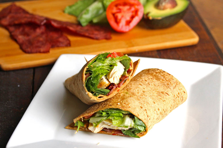 BLT Chicken Wrap