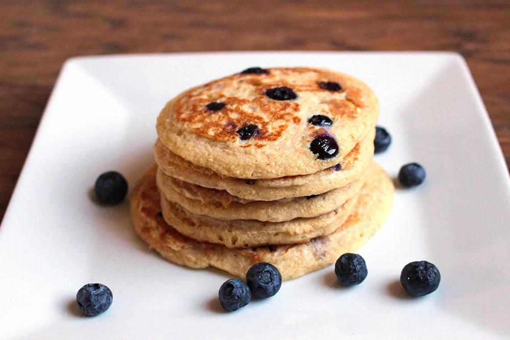 blueberry protein pancake recipe