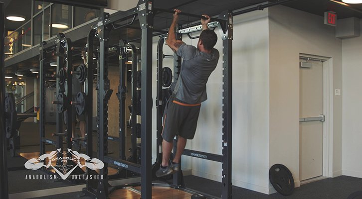 what muscles do chin ups work