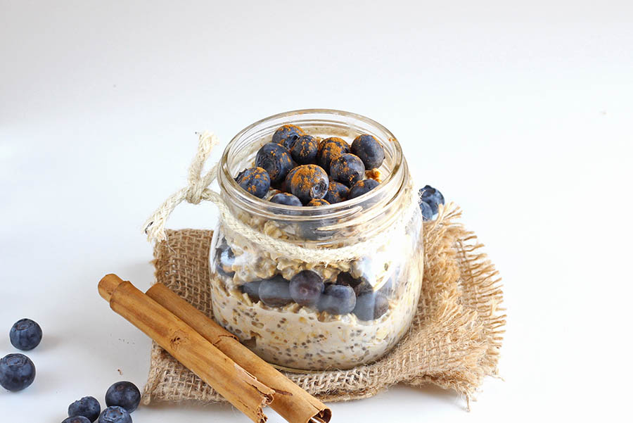 Blueberry Overnight Oat Recipe