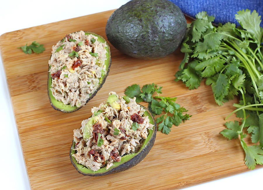 Tuna Salad Stuffed Avocado Recipe