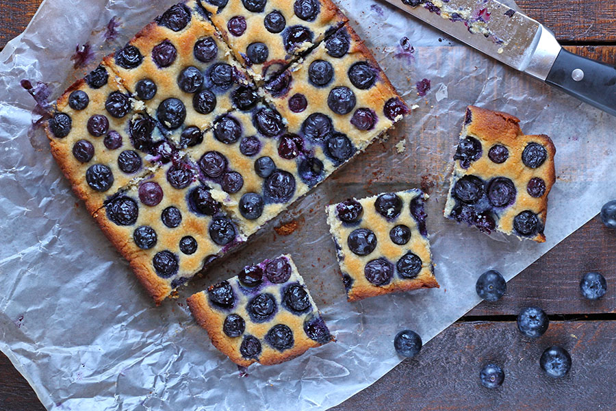 Fresh Blueberry Bars
