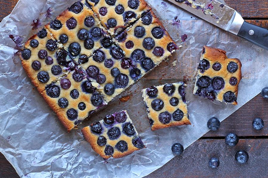 Fresh Blueberry Bars