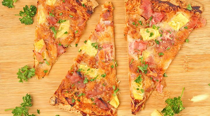 BBQ Hawaiian Flatbread Pizza Recipe