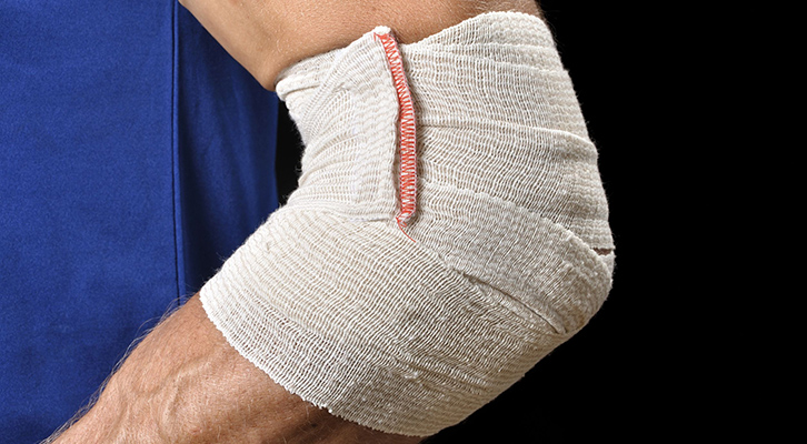 tendonitis while training