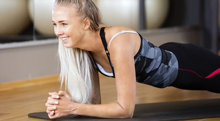 plank exercise