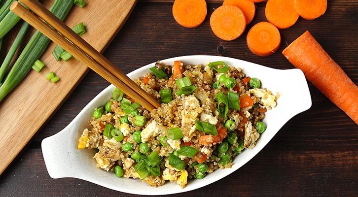 Quinoa Vegetable Fried Rice