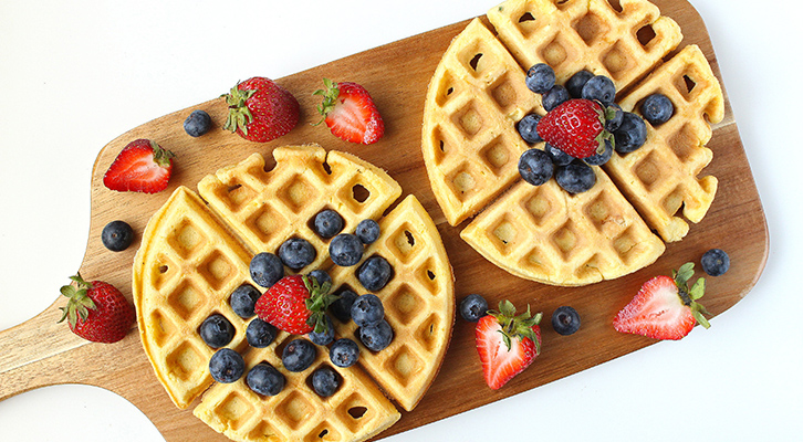 5 Healthy Waffles that are Freezer Friendly
