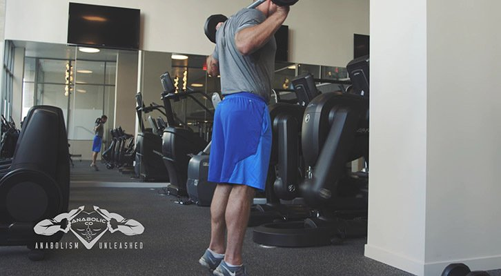 barbell calf raises
