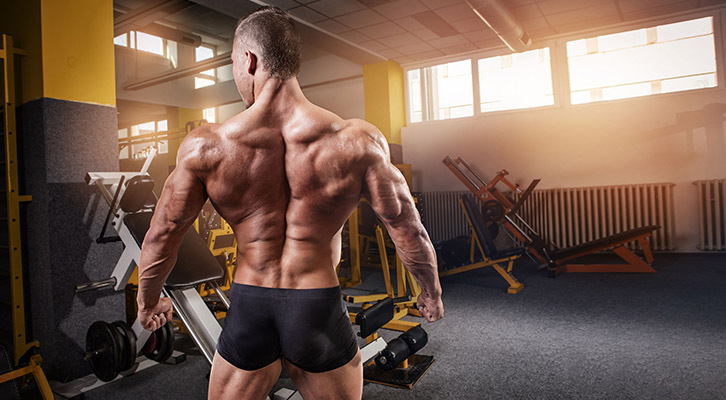 build a bigger back