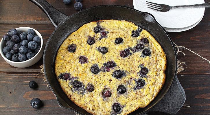 Blueberry Egg Bake