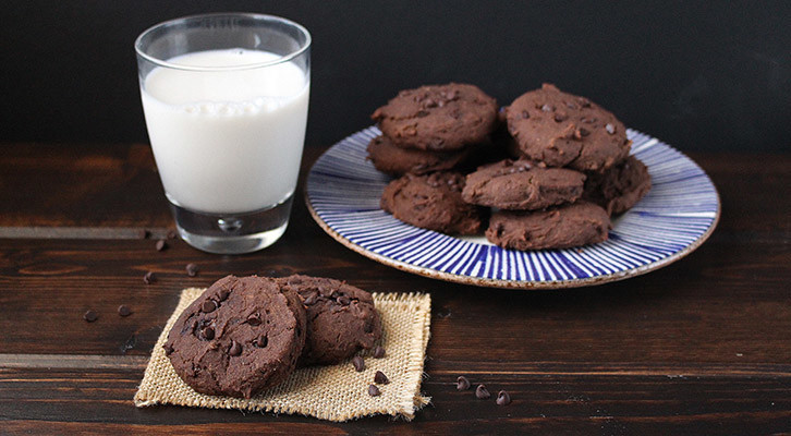 Double Chocolate Breakfast Cookies