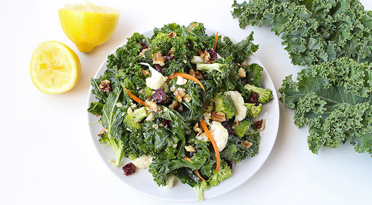 Kale and Quinoa Detox Salad