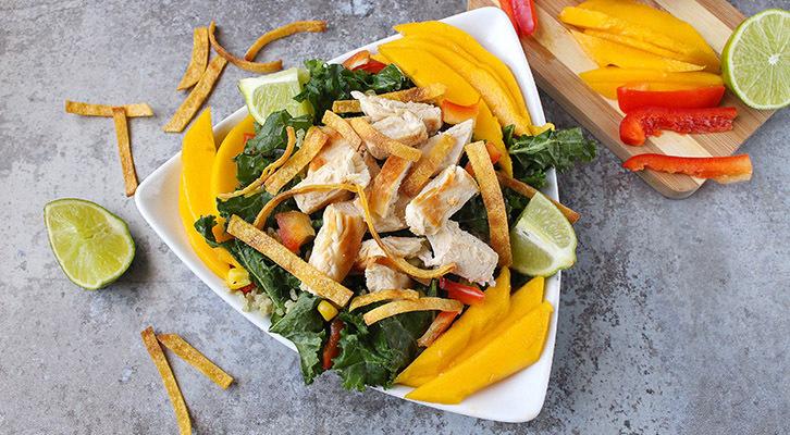 Southwestern Kale and Quinoa Salad